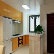 L字型家居小厨房