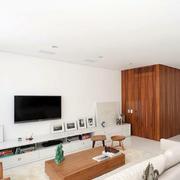 公寓客厅电视置物柜