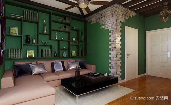 葱茏绿色东南亚风格家居装修效果图鉴赏
