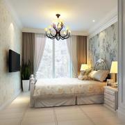 纯洁干净的卧室展示