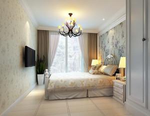 大户型时尚经典的现代卧室壁纸装修效果图大全