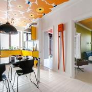 公寓餐厅个性吊顶