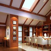 大户型现代美式餐厅
