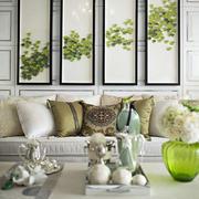 两室一厅客厅装饰画