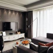 客厅空间电视墙设计