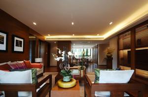 150平米中式古典超大平房装修效果图