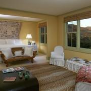 卧室床头背景墙展示
