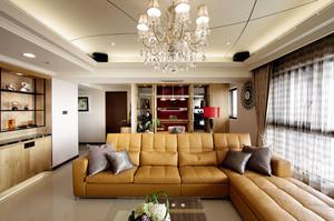 家居客厅转角大沙发