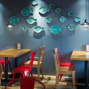 餐厅创意墙面装饰