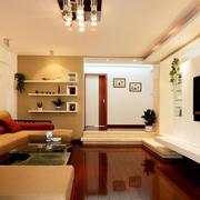 房屋温馨客厅装修