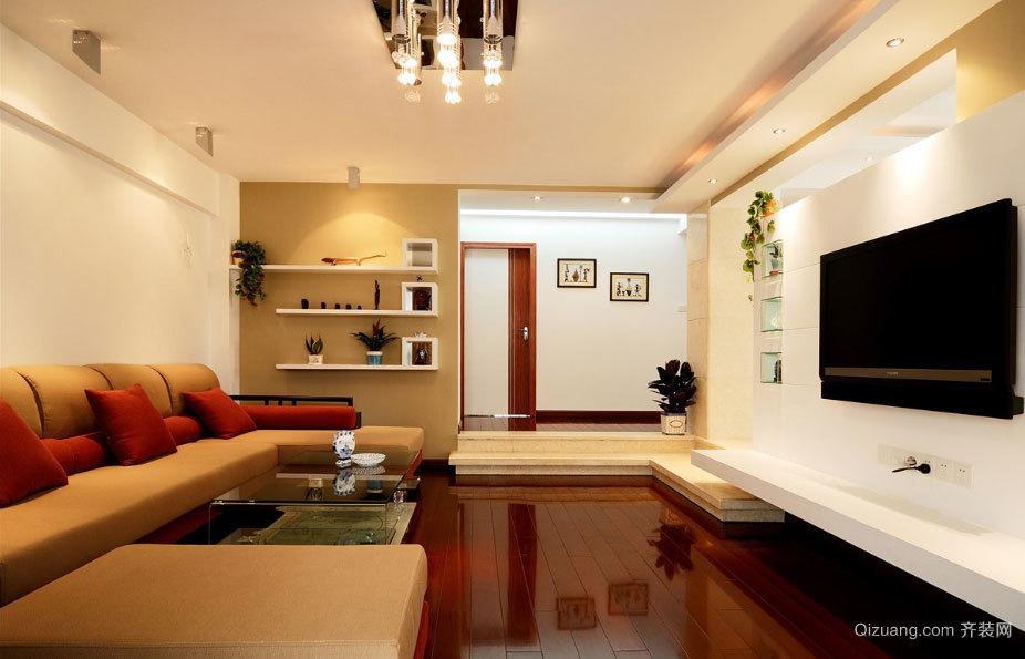 150平米温馨的简约而不空荡的房屋装修效果图