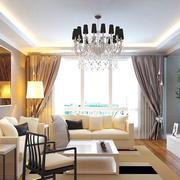 现代时尚的大户型客厅