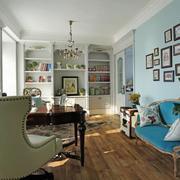 复式楼书房沙发摆放图