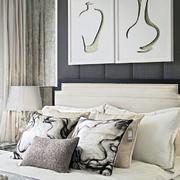 卧室床头简约装饰画