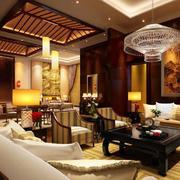 大户型中式客厅