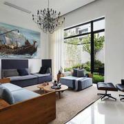 公寓沙发背景墙装饰画