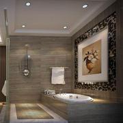 洗手间装饰画展示