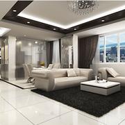 现代大气公寓客厅展示