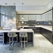 公寓厨房吧台设计