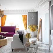 公寓彩色窗帘