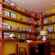 别致的书房书架