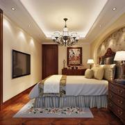 都市暖色卧室展示