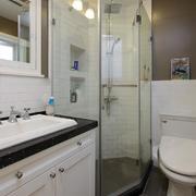 两室一厅卫生间玻璃门
