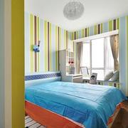 房屋卧室壁纸展示