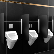 公共洗手间隔断