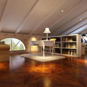 别墅阁楼地板展示