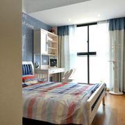 清新简约公寓小卧室装饰