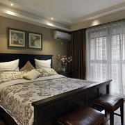 房屋美式卧室设计