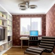 现代简约小户型书房装修
