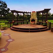 花园木质地板设计