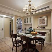 小户型公寓餐厅餐桌椅