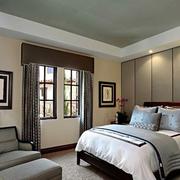 现代卧室效果图