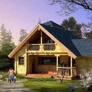 休闲木屋图片展示