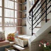 楼梯收纳抽屉设计