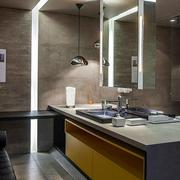 现代家居洗手间