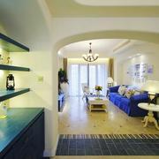 地中海房屋置物架设计