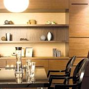 温暖公寓餐厅装修图