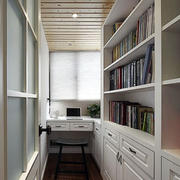 房屋书房木质吊顶设计图