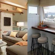 公寓靠窗茶几设计