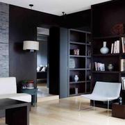 黑白系列单身公寓效果图