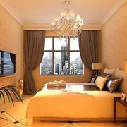 温暖黄色卧室