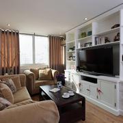 两室一厅客厅电视柜