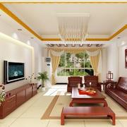 现代中式客厅