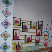 幼儿园教室墙面设计