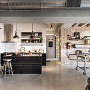 家居空间开放式厨房