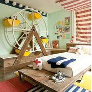 玩耍休息的儿童房
